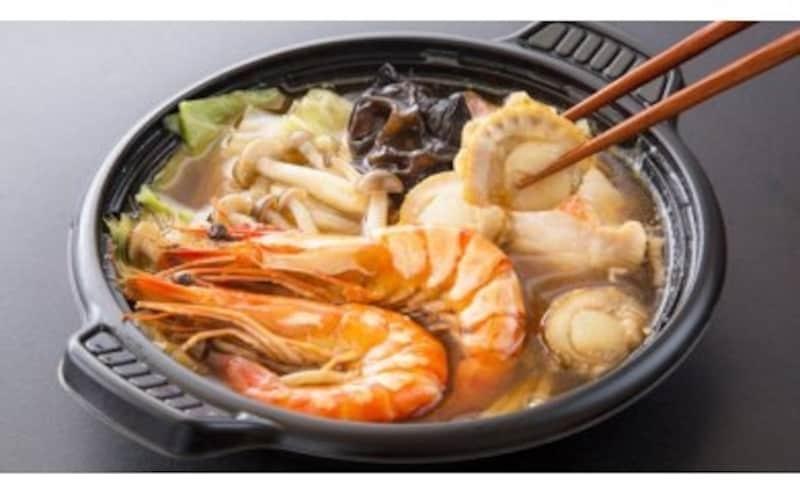 レンジで簡単!閖上海鮮鍋
