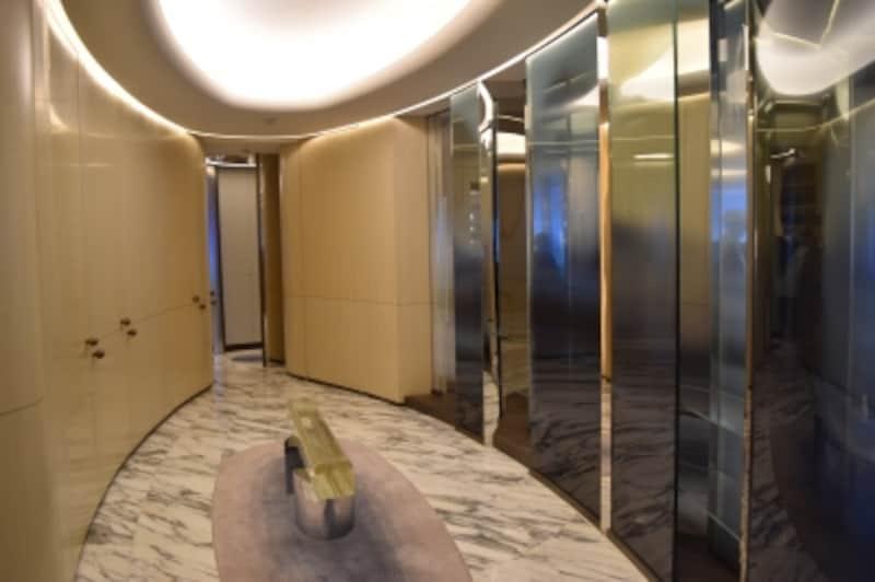モデルルームのエントランスホール