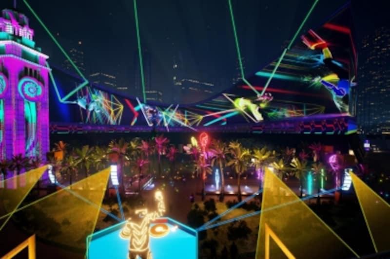 12月28日まで開催している「香港パルス3Dライトショー」も見逃せない!(写真提供:香港政府観光局)