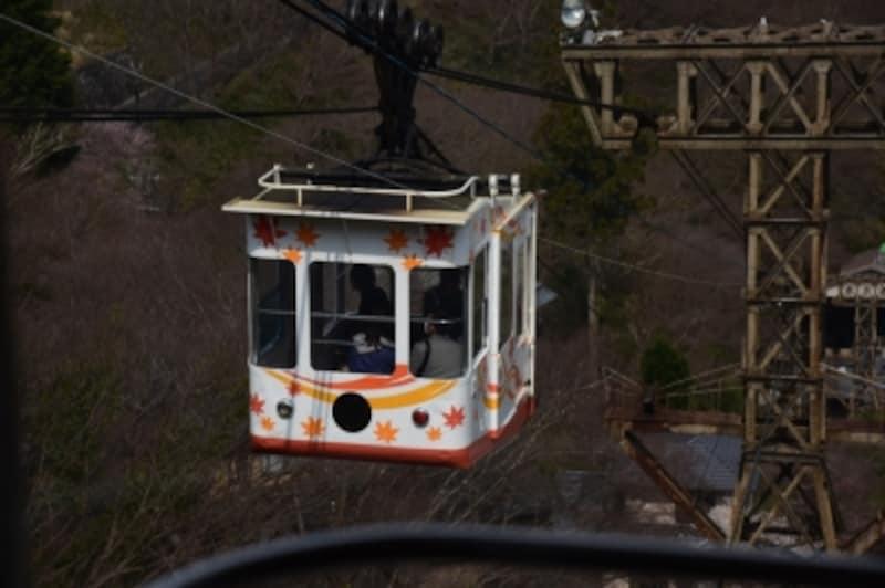 「吉野山ロープウェイ」は、2018年春は運休