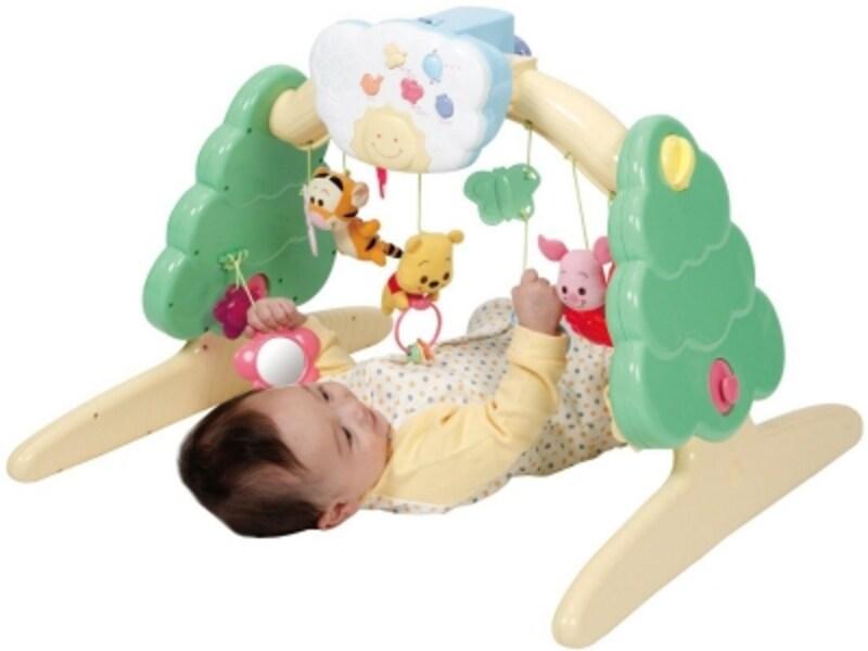 お誕生から1歳頃までずっと遊べるマルチトイ