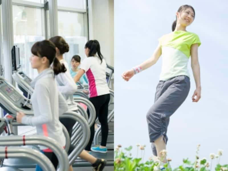 ランニングしなくても歩くだけで本当に痩せるの?