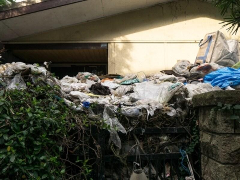 ゴミ屋敷の例