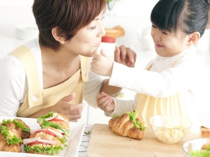 朝食やランチに取り入れやすい、サンドイッチメニューが充実。