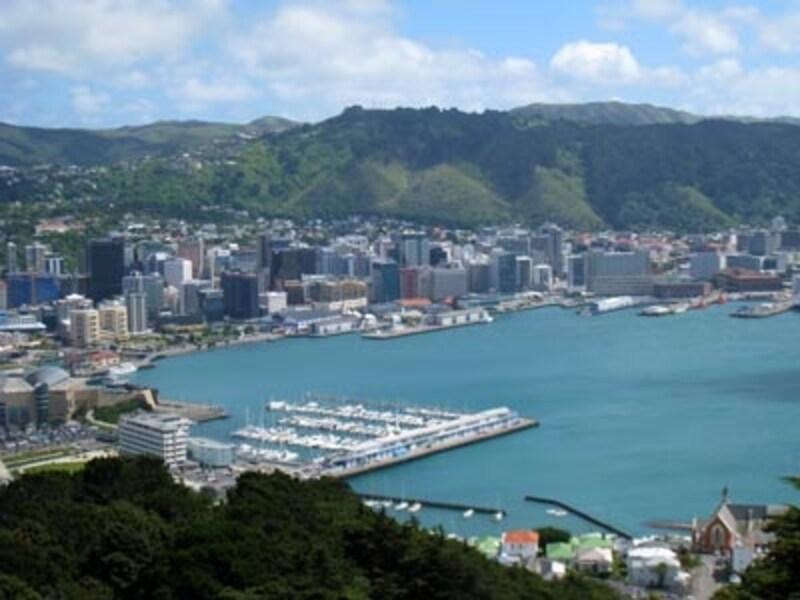 ニュージーランドの首都ウエリントンでもほぼ通常通りの営業