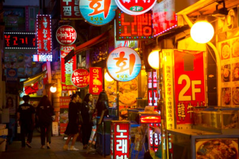 韓国 夜 語 ご飯