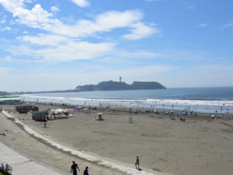 湘南を代表する観光地、江の島は藤沢市