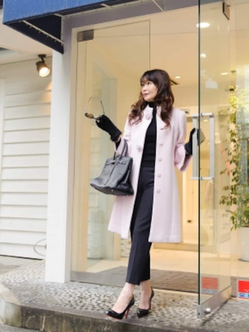 ピンクコート