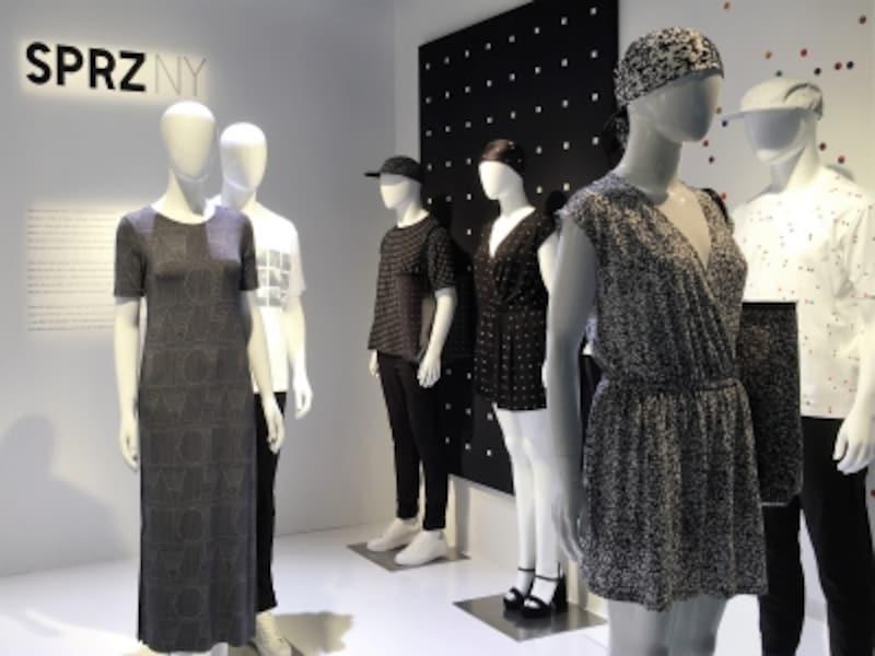 今季は幾何学柄が多い、ニューヨーク近代美術館MoMAとコラボレーションした「SPRZNY(サプライズニューヨーク)」