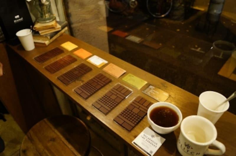 ニカラグアのコーヒーにあわせるチョコレートのペアリングを検証