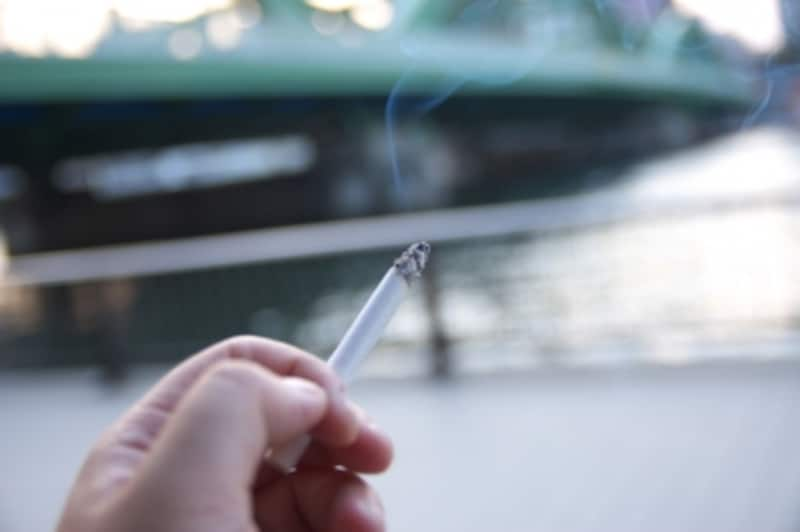 車内でのタバコ
