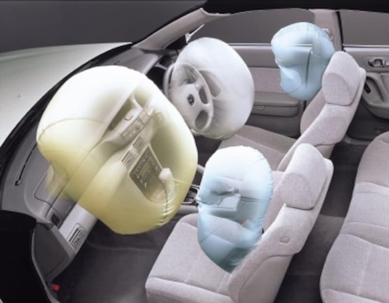 エアバッグ展開