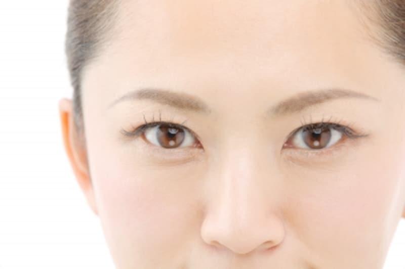 年齢とともに目の大きさが小さくなる?
