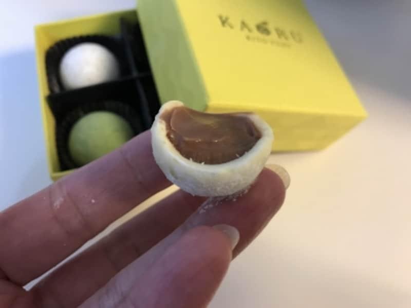 柚子とチョコのバランスがいい。おいしいです