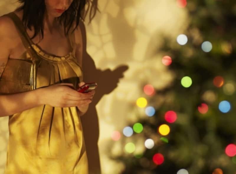 ひとりで過ごすクリスマスがイヤなのは男性だけではなく、女性も。
