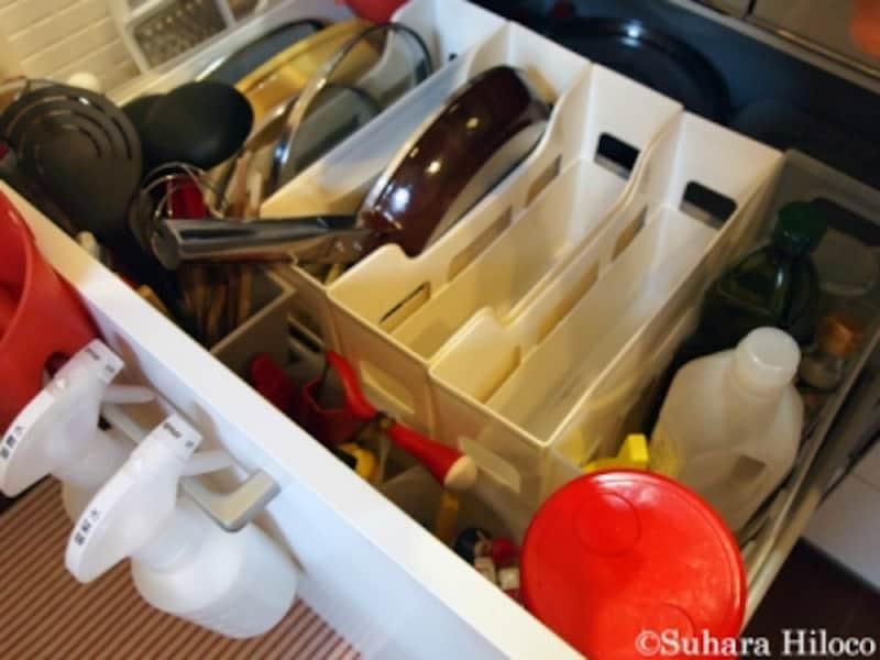 100均のキッチン収納