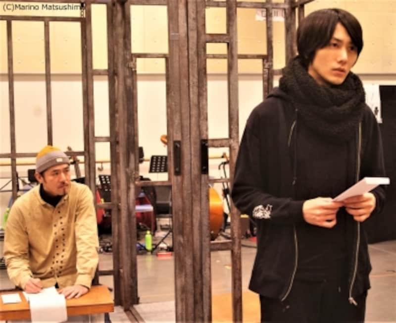 ミュージカル『手紙』稽古より。(C)MarinoMatsushima