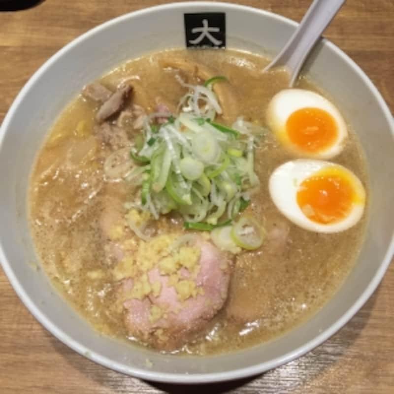 大島undefined味噌ラーメン