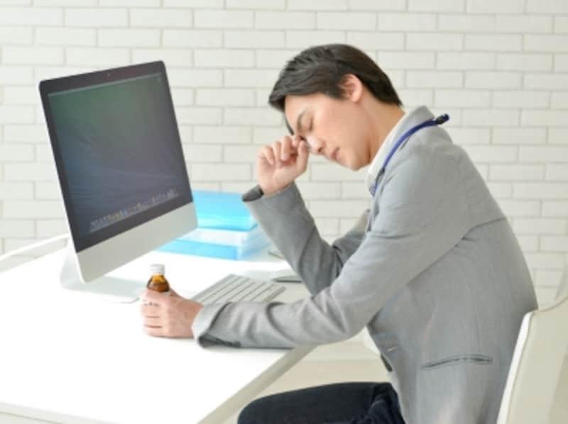 疲れた男性