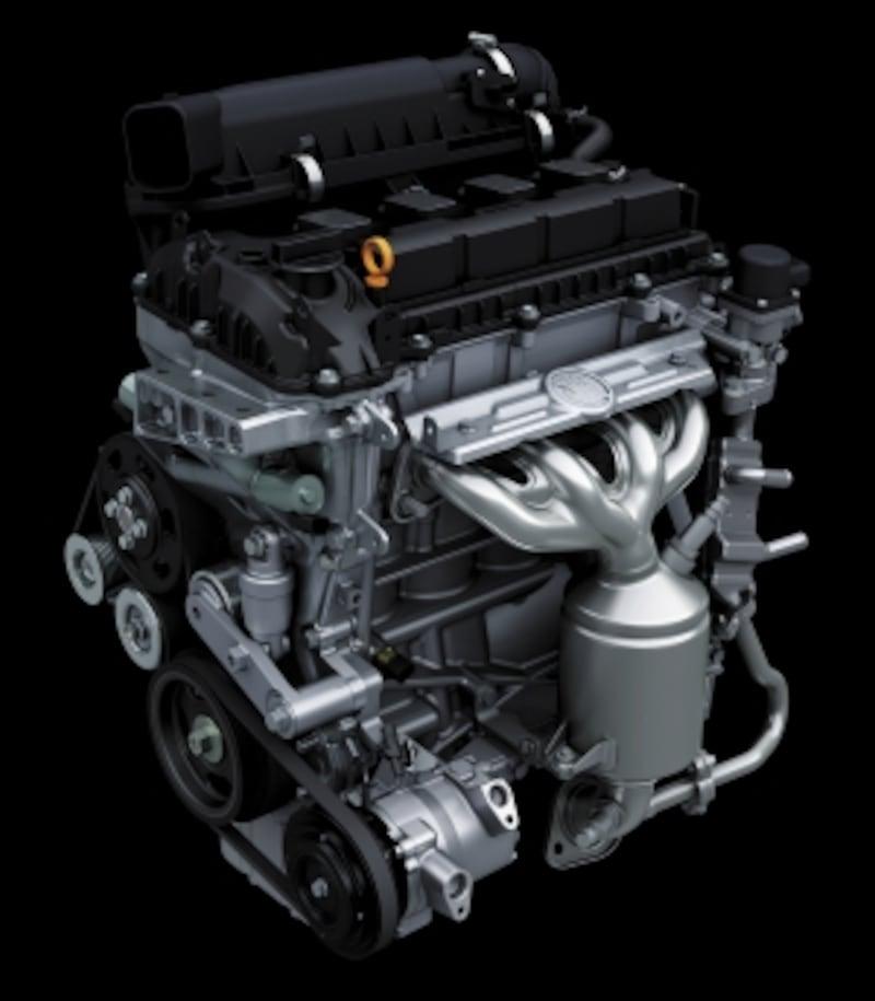 K12C型デュアルジェットエンジン