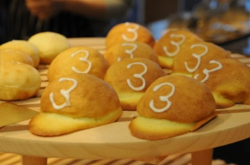 「野球帽」#帽子パン#高地ローカルパン#オマージュ