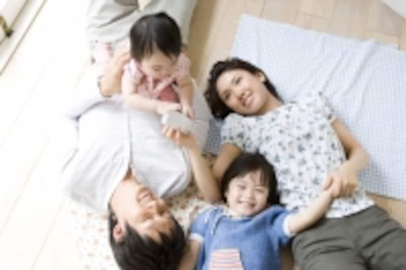 再婚後の出産で幸せなステップファミリー