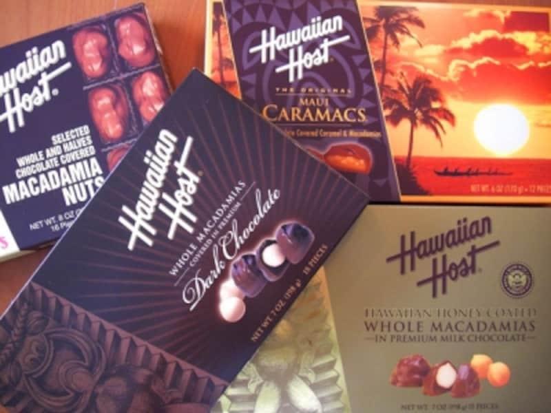 マカチョコを初めて作ったハワイアンホースト。食べ応えがあって値段は中ランク。コストパフォーマンスの高いマカチョコが揃う