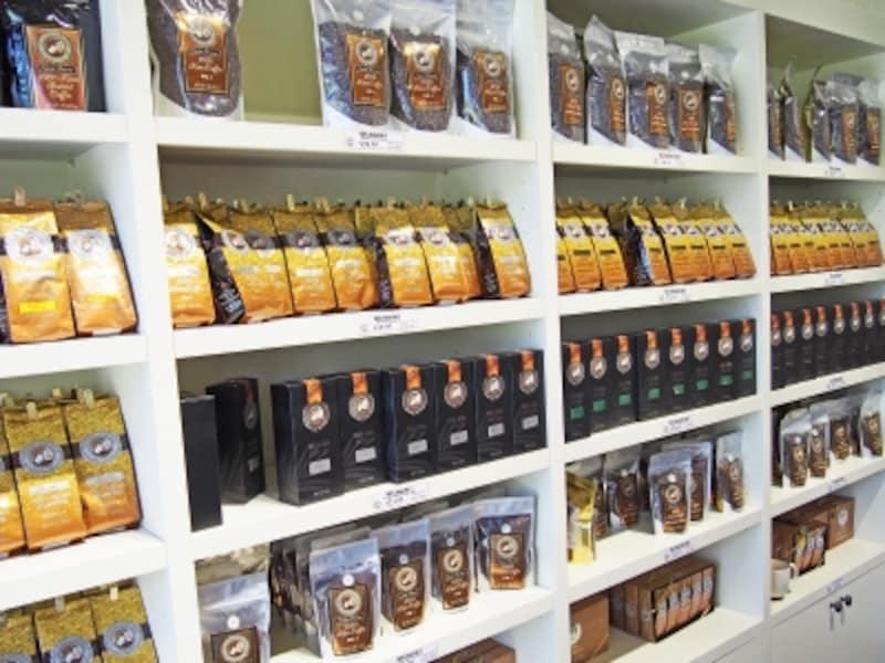 ハワイを代表するコーヒーブランド、アイランド・ヴィンテージ・コーヒー。コーヒー豆のグレードもさまざま