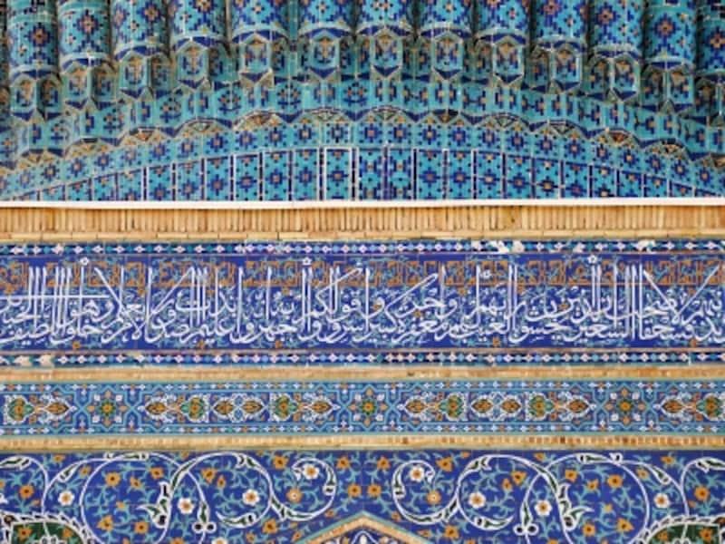 グリ・アミール廟の装飾