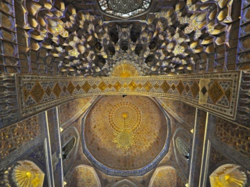 グリ・アミール廟の内装