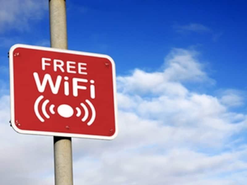 FREEと表示されたWi-Fiアクセスポイントが増えています