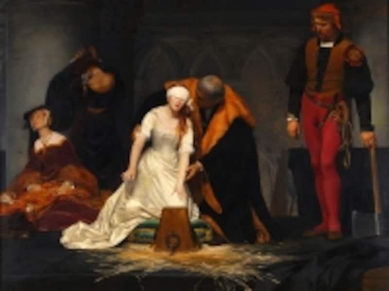 ポール・ドラローシュ『レディー・ジェーン・グレイの処刑』