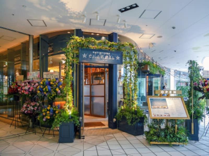 横浜ベイクォーターに2019年4月にオープンした「バターミルクチャネル横浜」(2019年4月24日撮影)
