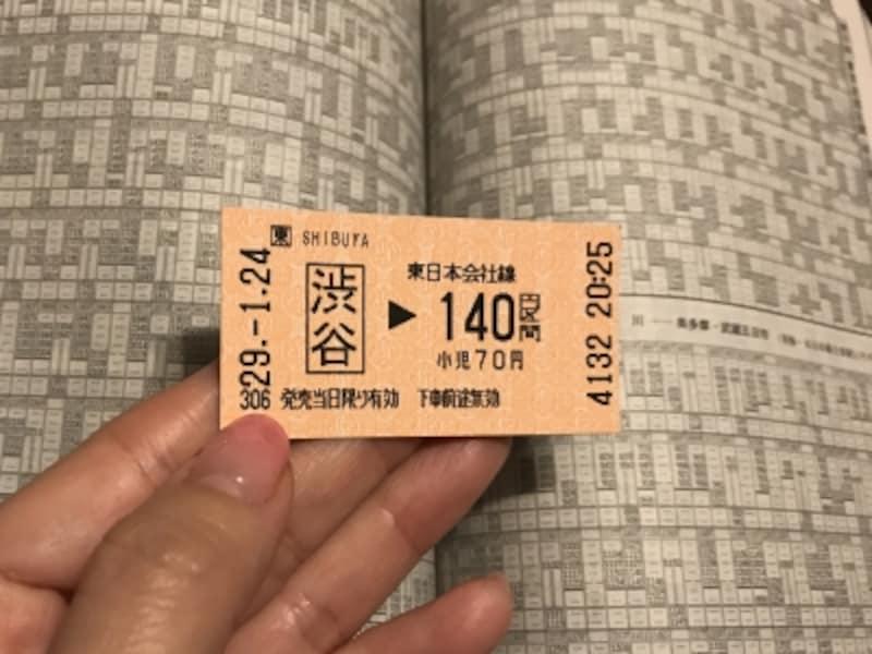 この切符だけで、いろんな所に行けちゃう?