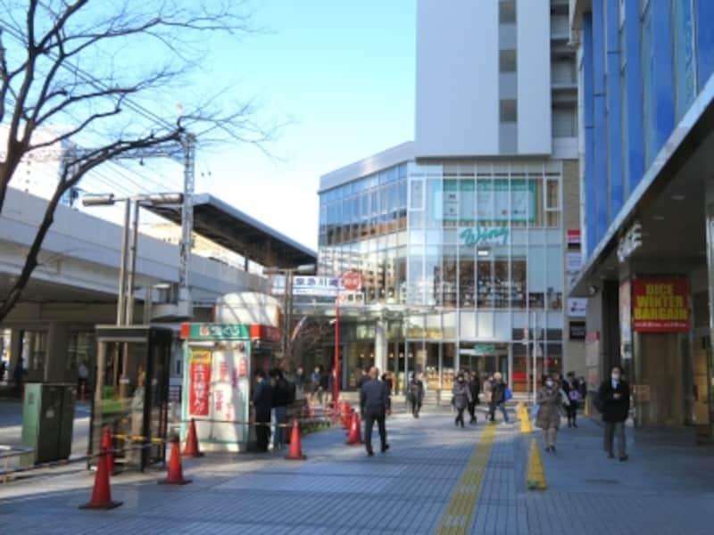 京急川崎駅周辺