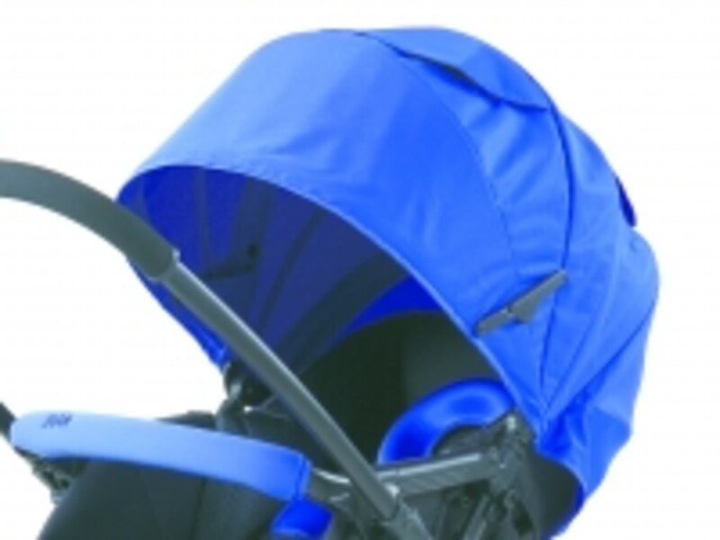 赤ちゃんをすっぽり覆ってくれる幌なら安心ですね