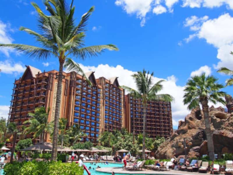 ホテル散策も楽しいアウラニ・ディズニー・リゾート&スパ