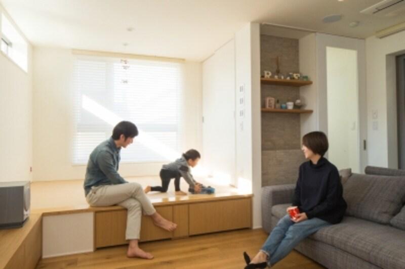 2階の子世帯スペース