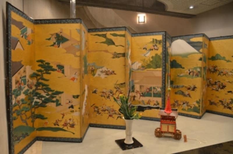 京都祇園祭undefined屏風祭