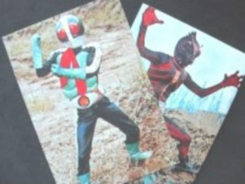ガイド所蔵のライダーカード