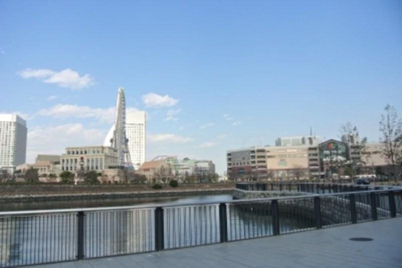 「(仮称)馬車道駅直結undefined横浜北仲タワープロジェクト周辺の風景
