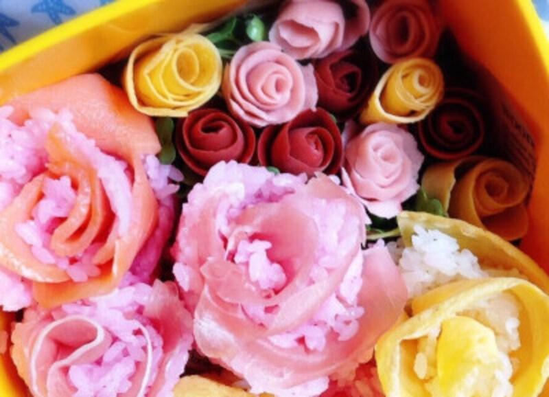 花やほっぺなど、ピンクのパーツに使用