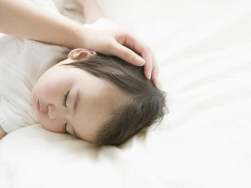 寝ている乳幼児