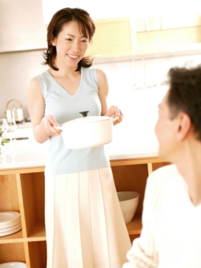 お母さんの料理は、彼を育てた料理!弟子入りして彼の好みを勉強したいという気持ちを持って!