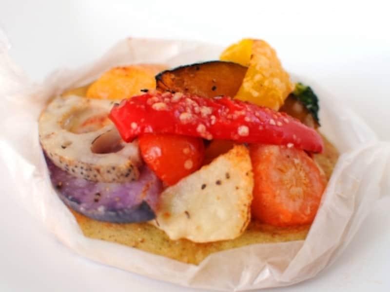 季節野菜のピゼッタ
