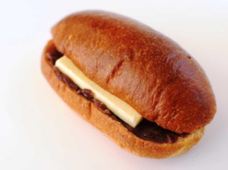 あんバターサンド、あんは横須賀の製餡所のもの