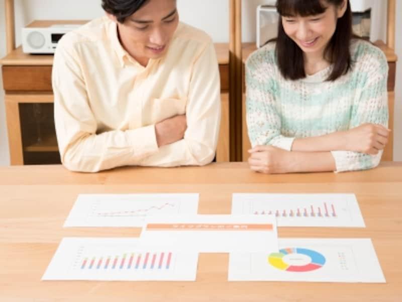 資産運用を考えている若い夫婦