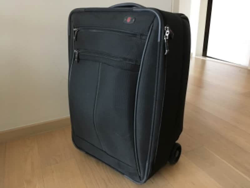 計量で使い勝手の良いソフトタイプのスーツケース