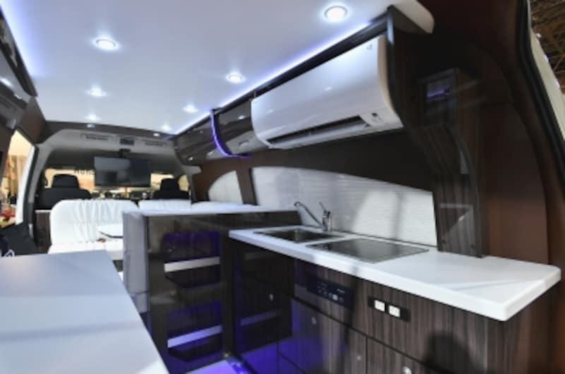 エアコンはじめ家電製品が満載の快適空間