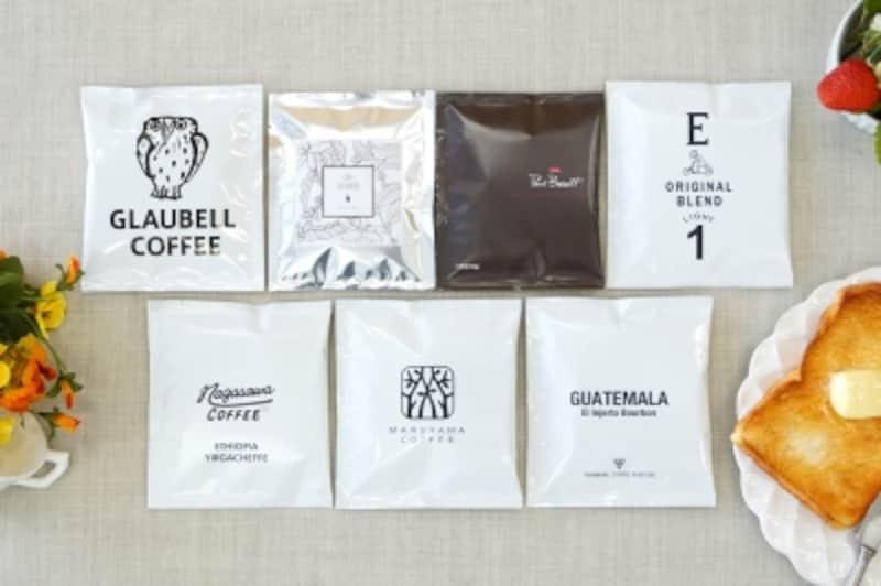 平日、忙しい朝食の時でも、ドリップバッグなら簡単に美味しいコーヒーを作ることができます
